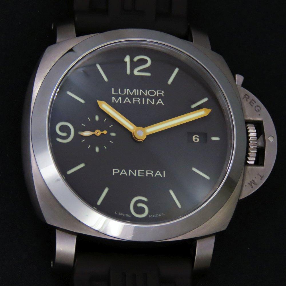 二手 Panerai PAM00351 鈦金屬 Luminor Marina (44mm)